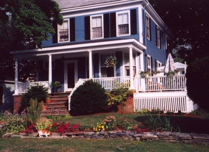 Fleetwood House Bed And Breakfast, Portland, Maine, 着名的旅游地点和床&早餐 在 Portland